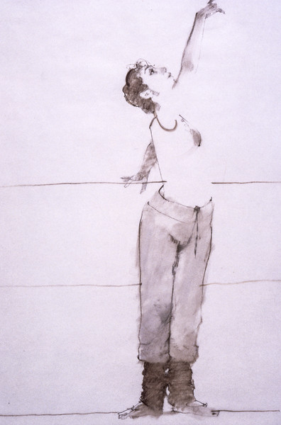 Study for 'Reaching' (c1980s)