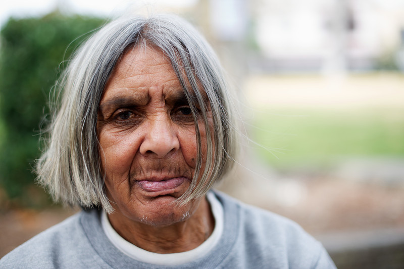 Aboriginal Woman who is an Elder of her People