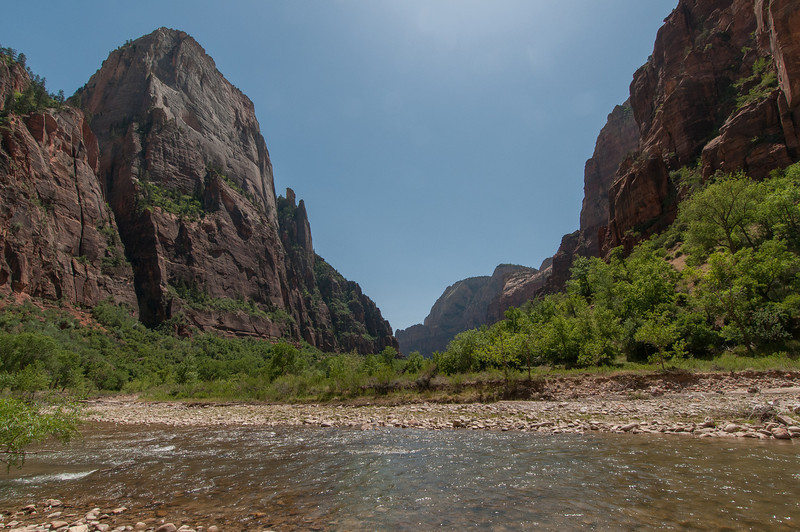 Virgin River in Zion National Park, Utah