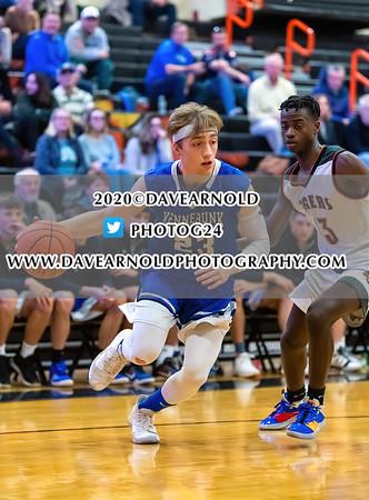 1/11/2020 - Boys Varsity Basketball - Kennebunk vs Biddeford