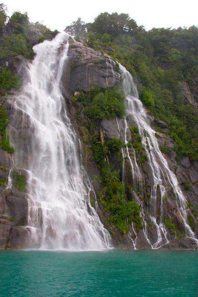 Waterfall at Todos los Santos, Patagonia, Chile