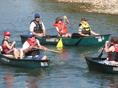 Illinois River Canoe Trip May 2009