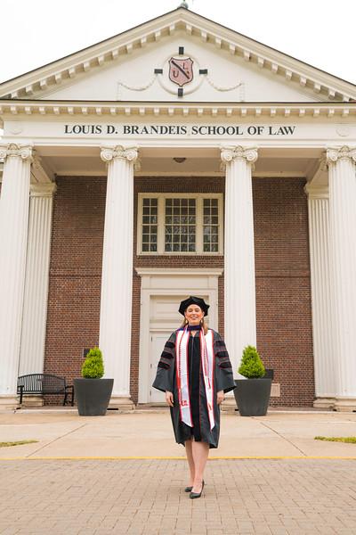 Sarah UL Law School Graduation