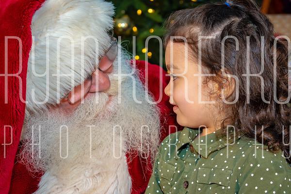 Dashing Through the Glow- Santa