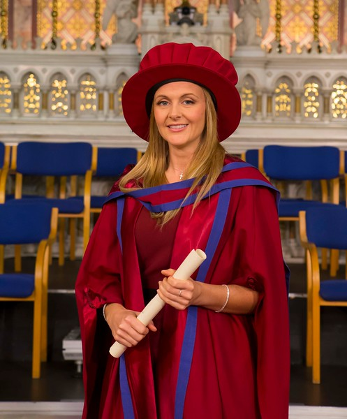 Waterford Institute Of Technology Conferring. Pictured at WIT Waterford Institute Of Technology Conferring is Geraldine Cleere, Waterford, Waterford, who was conferred a Doctor of Philosophy. Picture: Patrick Browne