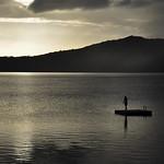 Sunrise on Apoyo Lake, Nicaragua