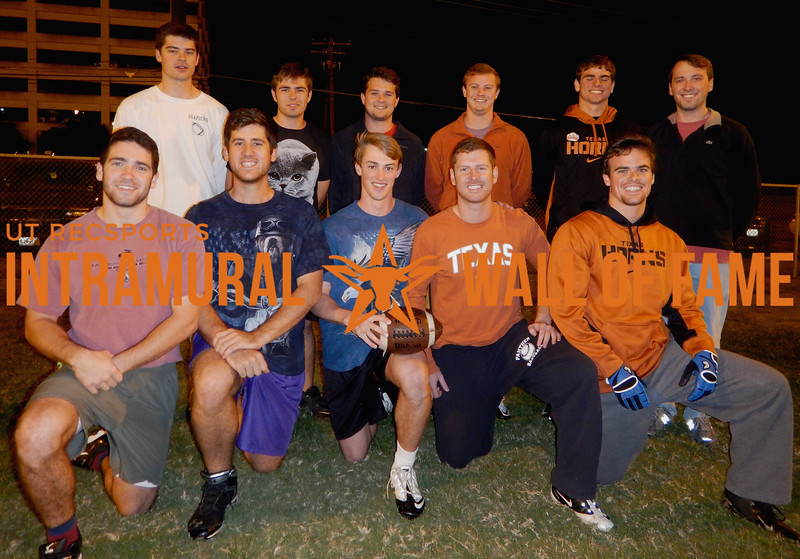 FLAG FOOTBALL Orange A Runner Up  Slapicks  R1: Micah Phenix, Robert Hood, Christopher Smith, Marshall Norment, Ryan Templin R2: Matthew Stubbs, John Menefee, Jeffrey Tornow, Robert Schmidt, Tylan Templin, Andrew Cossu Not Pictured: Chase Hudson, Benjamin Noel