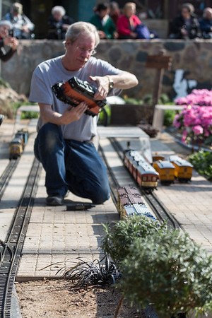 2.27.17 The Great Train Robbery Train Show at the Mitchell Park Domes