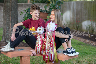 Kari & Brody ..... Homecoming shoot