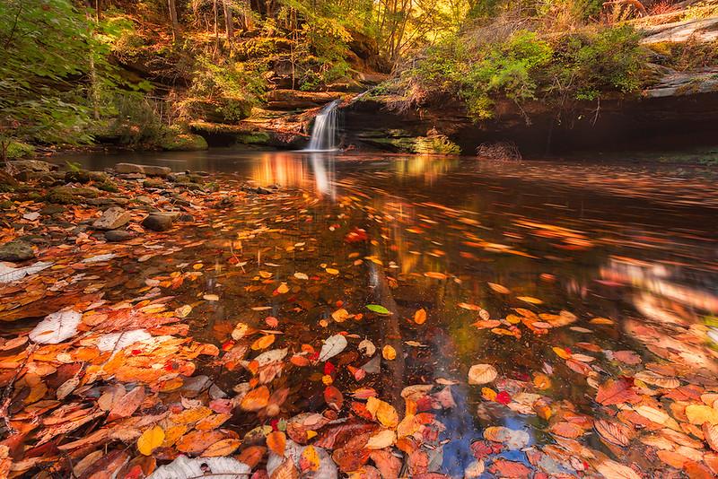 Lower caney creek falls fall swirlweb1200.jpg