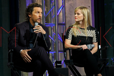NEW YORK, NY - DECEMBER 16:  Build Presents Matthew McConaughey and Reese Witherspoon Discussing 'Sing'