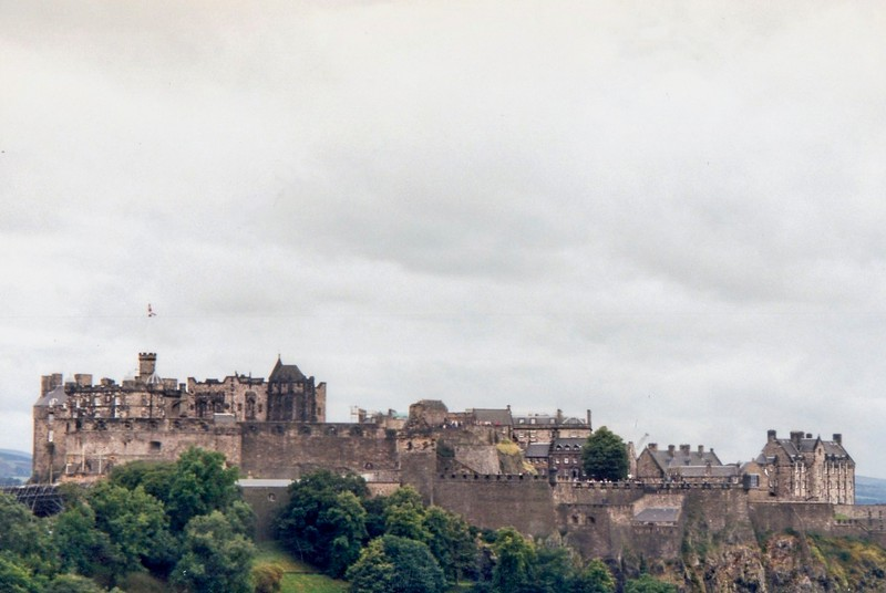 Trip to Scotland. Study abroad in Europe.  Fall 2000.