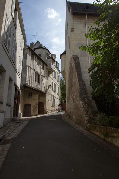 The hillsides of Saumur
