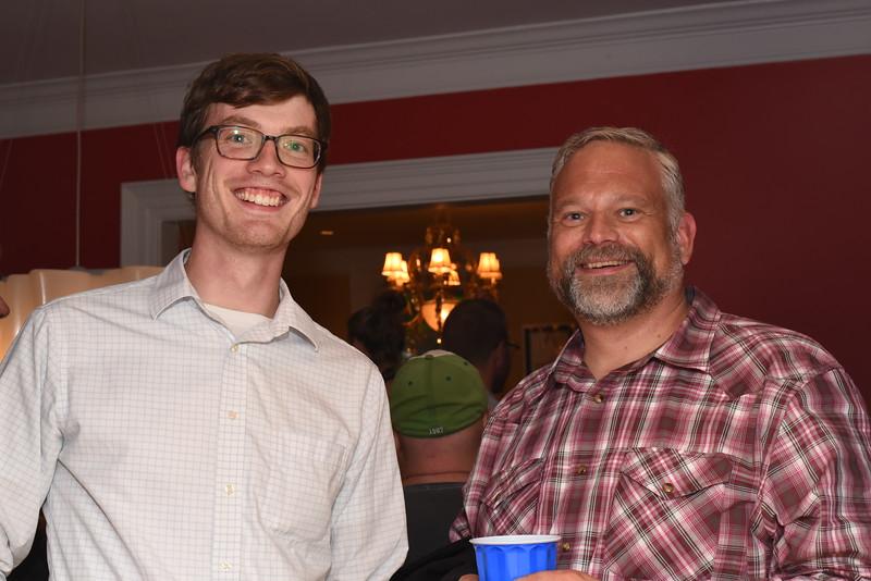 Ryan Doyle, Shane Larson. Blue Wave Book Opening. June 5, 2018. 616 North Carolina St SE. Amanda Warden..JPG