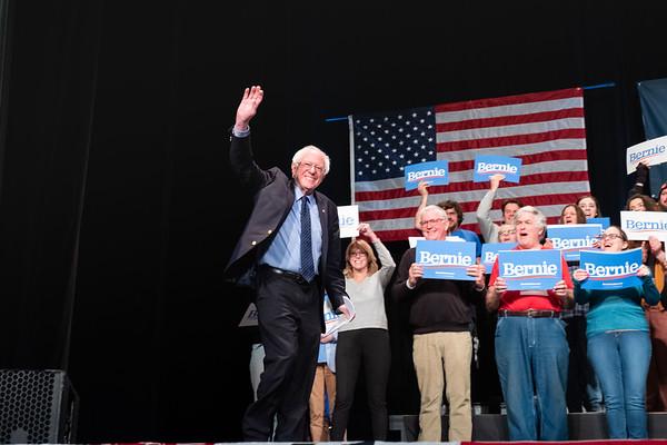 Bernie Rally-Colonial Theater - Keene, NH 031019