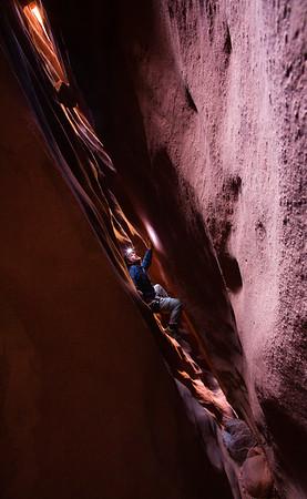 Left Fork of Leprechaun Canyon, central Utah