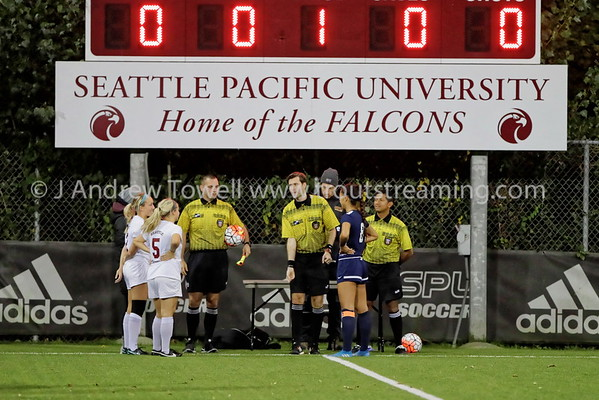 20161020 Womens Soccer Seattle Pacific University Falcons versus Western Washington University Vikings Snapshots