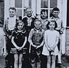 3rd and 4th grade students at Whitney School in 1945-46.