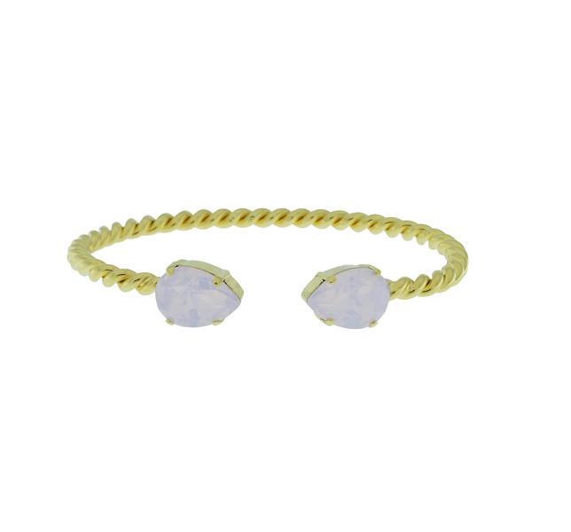 Mini Drop Bracelet / Rose Water Opal