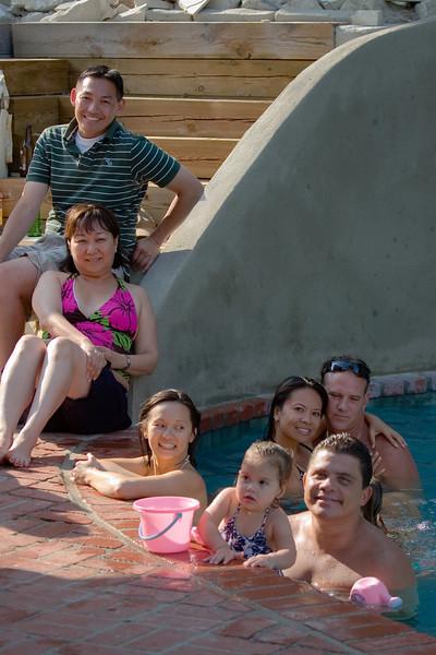 Gary, Linda, Valerie, Hailey and Jose, Rowena and Cody