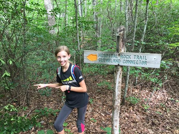 Falls Creek trail to Jones Gap 7-28-18