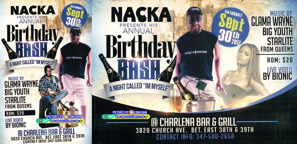 "NACKA PRESENTS HIS ""BIRTHDAY BASH / I'M MYSELF""(15)"