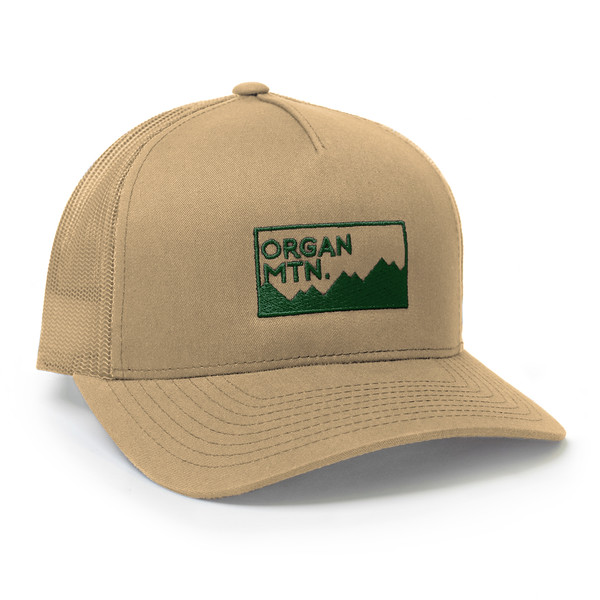 Organ Mountain Outfitters - Outdoor Apparel - Hat - Expedition Snapback Cap - Tan Forest Green.jpg