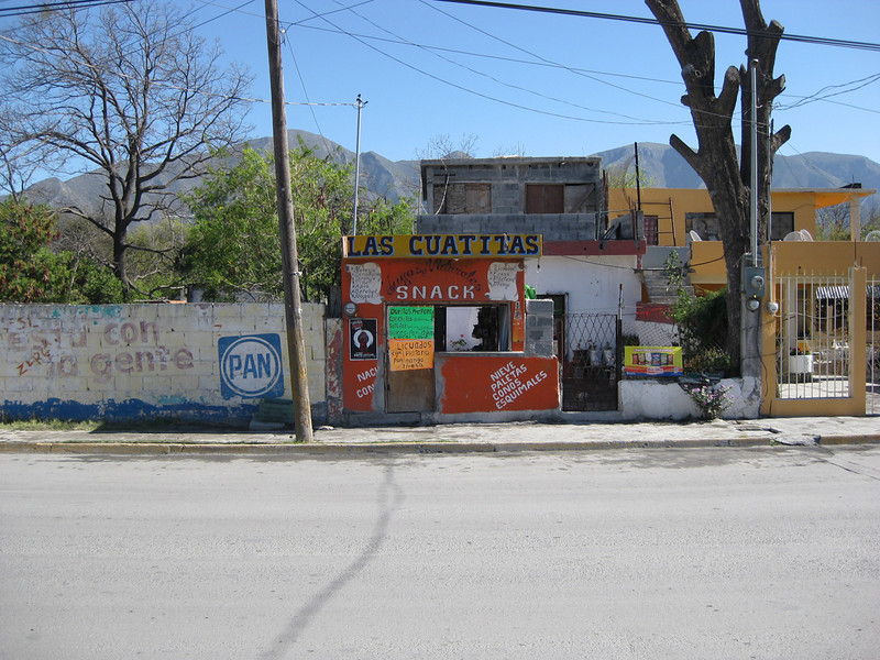 Deposito's/Mini Supa's if your if your more than 5 minutes walk from one your not in Mexico