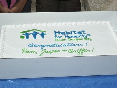Habitat for Humanity House Dedication