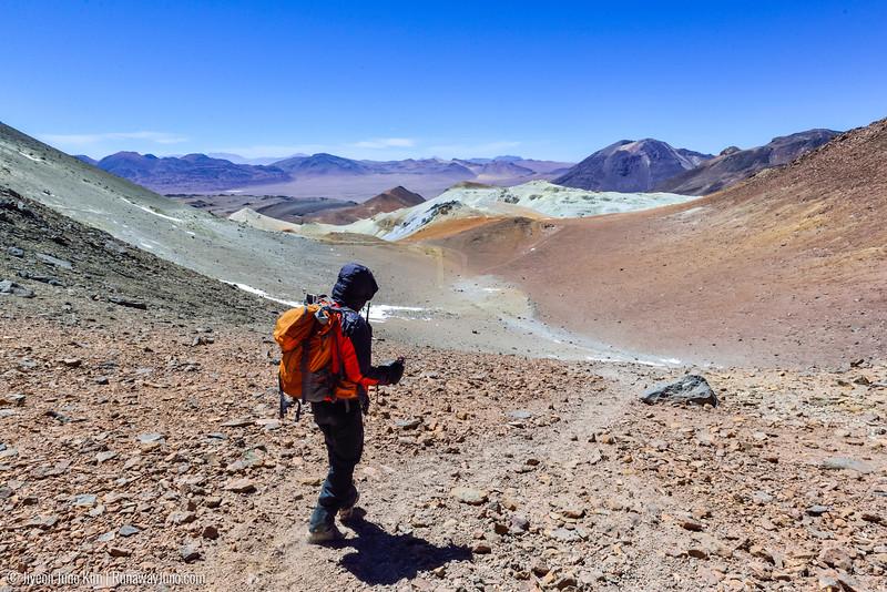 Nacho at Cerro  Toco