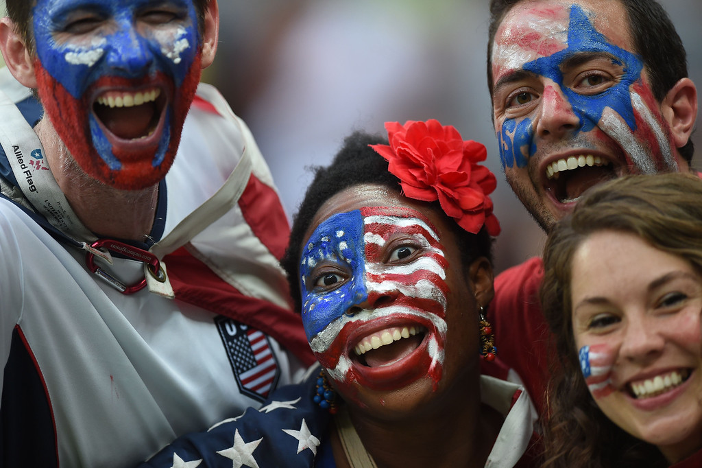 . before the start of a Group G match between USA and Portugal at the Amazonia Arena in Manaus during the 2014 FIFA World Cup on June 22, 2014.    FRANCISCO LEONG/AFP/Getty Images
