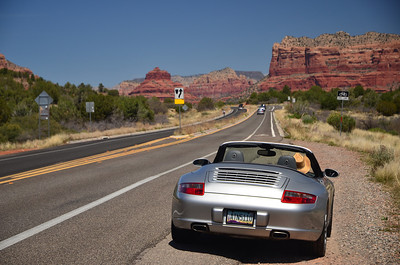 Porsche Rental in Arizona