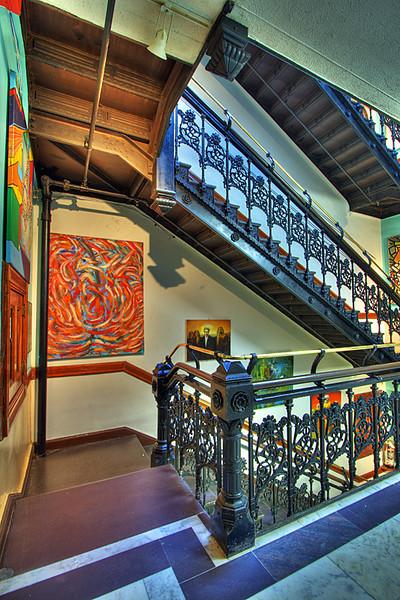 Chelsea  Hotel Stairway