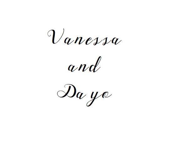 Vanessa and Dayo