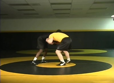 Attack hand and elbow to a single and dump