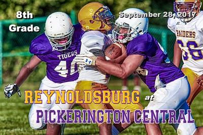 8th Grade - 2017 Reynoldsburg at Pickerington Central (09-28-17)