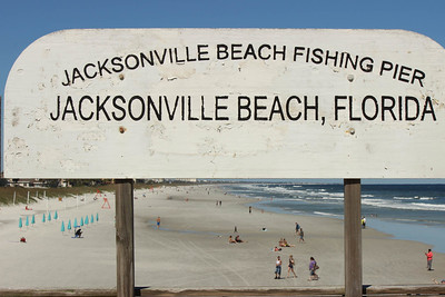 Jacksonville Beach Fishing Pier