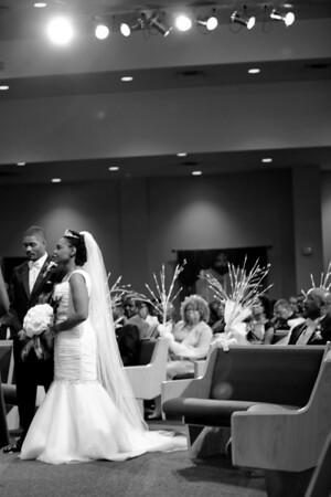 Mr. and Mrs. Hall Ceremony