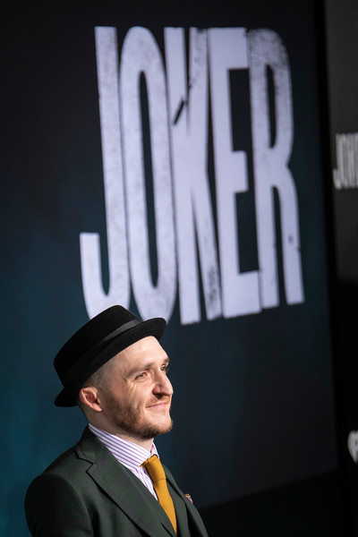 """HOLLYWOOD, CALIFORNIA - SEPTEMBER 28: Leigh Gill attends the premiere of Warner Bros Pictures """"Joker"""" on Saturday, September 28, 2019 in Hollywood, California. (Photo by Tom Sorensen/Moovieboy Pictures)"""