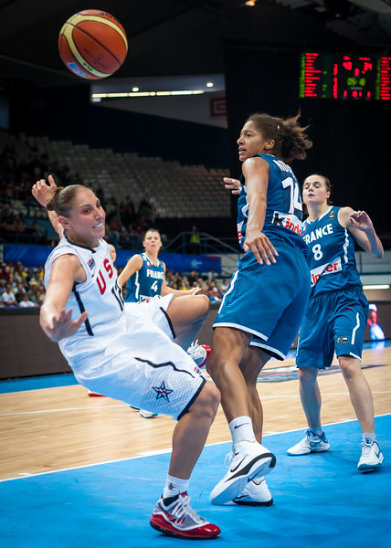 (FIBA World Championship for Women: Preliminary Round, USA 81 v. France 60, Čez Aréna, Ostrava, Czech Republic. September 25, 2010)
