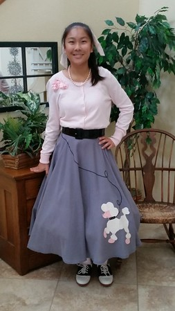 Paige poodle skirt May 2015