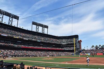 SF Giants vs Colorado Rockies 5.20.2018