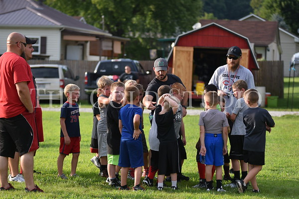 Coal Grove Football Camp 2017