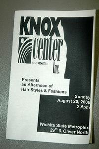 Knox Center Fashion & Hair Show Aug 20, 2006