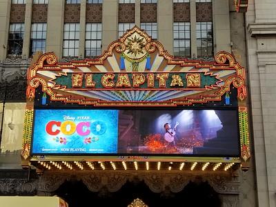 El Capitan Theatre - Coco 2017