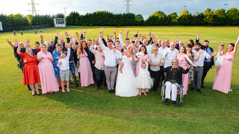 Bamford Fieldhouse Cricket Club - Wedding Photography Rochdale