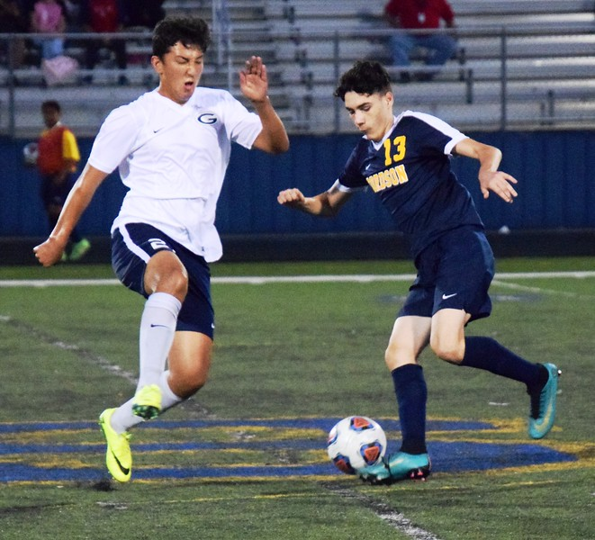 Fordson welcomed in Westland John Glenn on Tuesday night and came away with a 3-1 victory. It kept the Tractors unbeaten and in sole possession of first place in the KLAA East.  Alex Muller - For Digital First Media