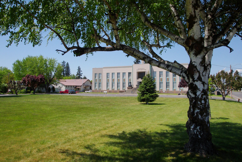 Goldendale ... Courthouse lawn.