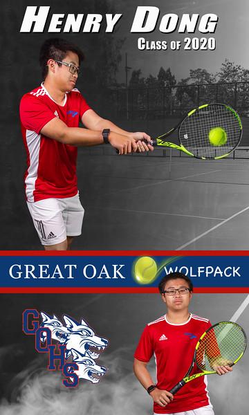 GOHS Tennis 2020