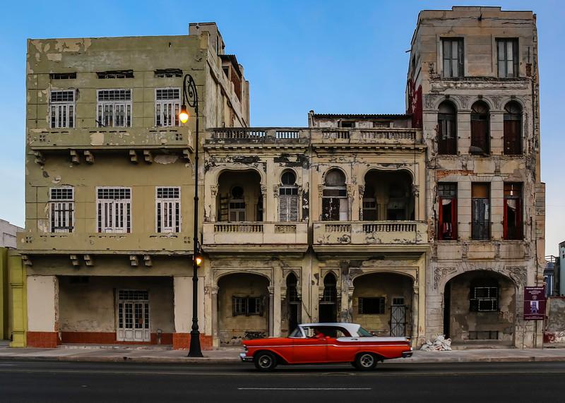 Classic Cars on the Havana Malecon 11